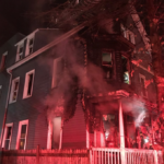 Fire in Dot: 60 Topliff Street